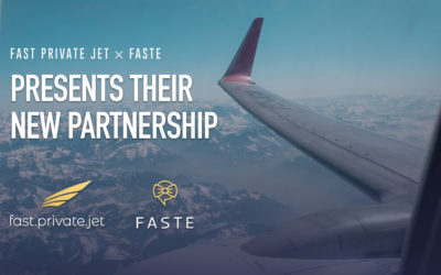 Fast Private Jet and FASTE: The partnership in the name of luxury!